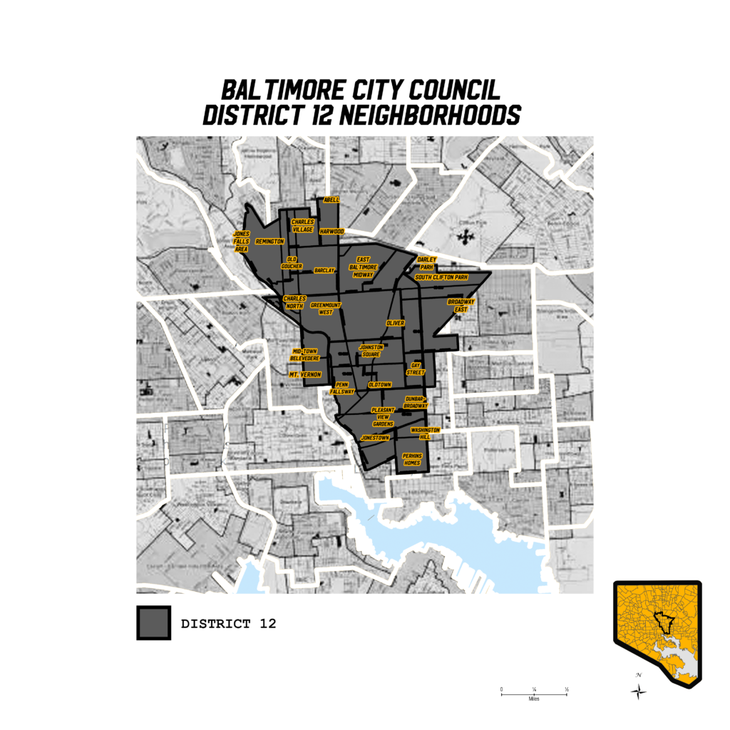 Baltimore's District 12 Map
